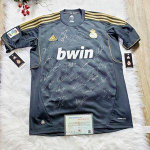 Adidas Real Madrid Jersey Shirt Autographs